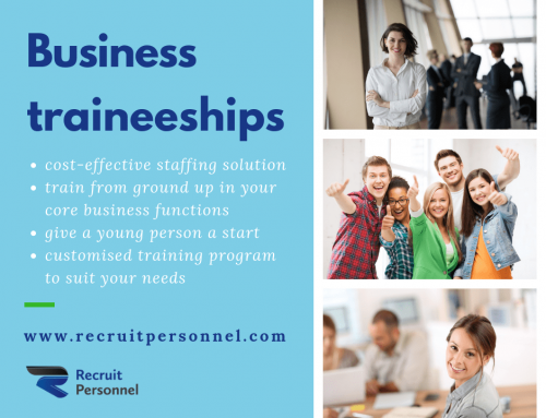 Consider a Trainee for your business.