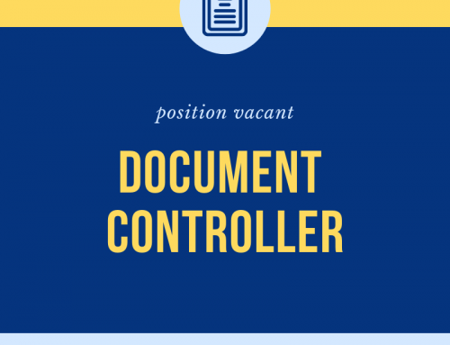 Document Controller Wanted – Newcastle Area