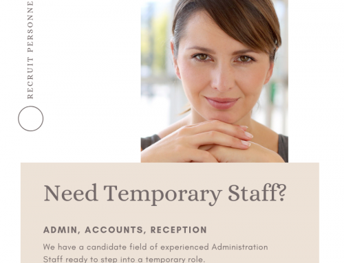 Administration Temporary Staff – Hunter Valley