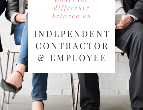 Myths & Tips Part 3 – The difference between an Independent Contractor & and Employee