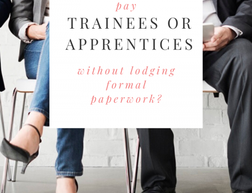 Paying Apprentices & Trainees Correctly