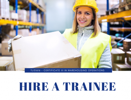 Lets Solve your Staffing Needs – Stores & Warehousing Trainees.