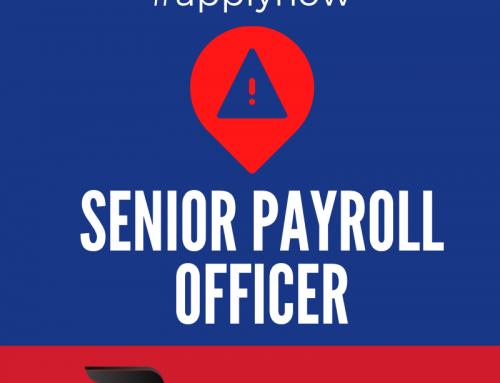 Job Vacancy:  Senior Payroll Officer – Beresfield