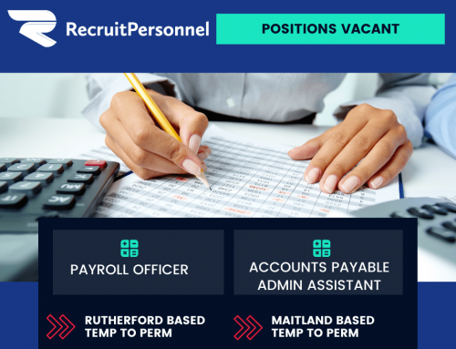 Accounts Payable & Payroll Officer roles just listed