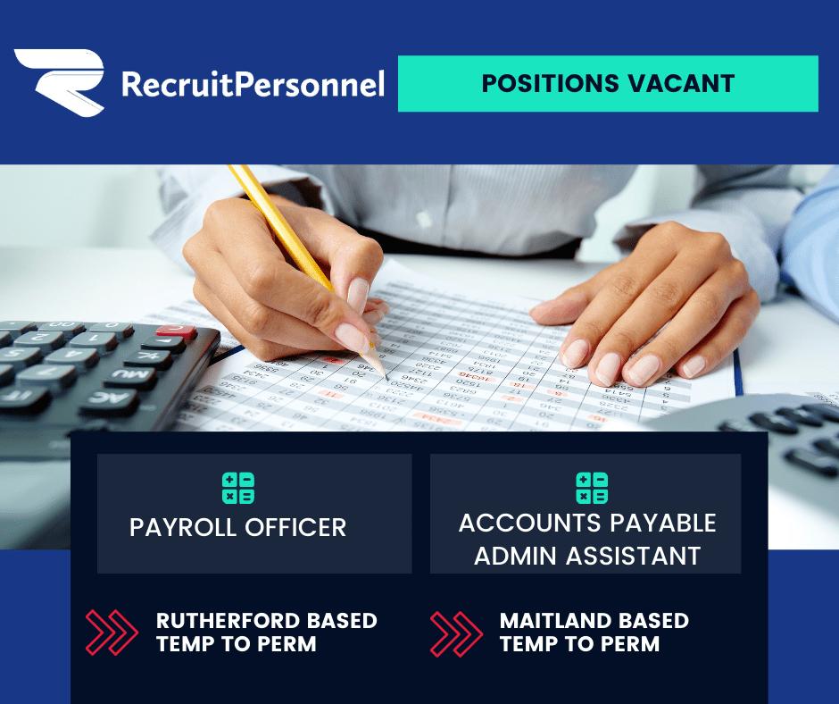 Payroll & Accounts Jobs